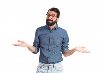 young-hipster-man-having-doubts-over-white-background_1368-14167
